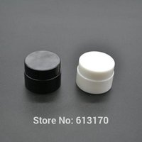 Sample Jars Cream Cosmetic Packing Container Pp Black White 2 Colors 100pcs 5g 5ml Mini Small Free Shipping Empty