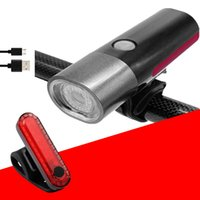 Bike Front Light Rechargeable Bicycle Headlight Waterproof B...
