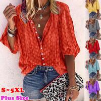 женщины дизайнер футболки женские Осень Camisetas де Diseñador Para Mujer Printed люкс Блузы Мода женщина рубашки с длинным рукавом Топы S-5XL