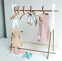 Rabbit hanger Ins popular wooden small rabbit hanger Nordic ...