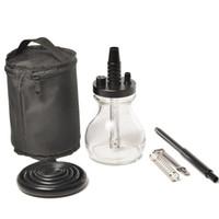 Travel Shisha 2 комплекты высококачественной сумки пакет аксессуары наргильный стеклянный кальян TNT UPS DHL FedEx