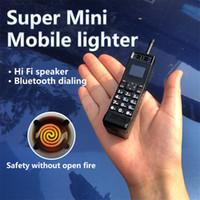 잠금 해제 된 슈퍼 미니 전자 가벼운 휴대 전화 향수 클래식 스타일 블루투스 동기식 단일 SIM 빈티지 작은 손가락 핸드폰