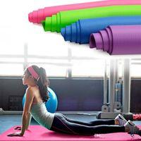 EE.UU. Gimnasio Equipo de gimnasio Mat de yoga Almohadilla de ejercicio Grueso antideslizante Plegable Gimnasio Fitness Mat Pilates al aire libre Entrenamiento en interiores Gimnasio Ejercicio FY6012