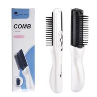 Massage infrarouge sans fil électrique Ray peigne follicule cheveux Stimulez Anti Perte de cheveux Soins des cheveux Dense croissance Head Massager