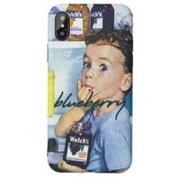 Retro blueberry boy original iphone xs Max phone case lovers...