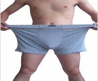 Erkekler Oversize Tasarımcı Giyim Erkek 11XL Modal Boksörler Underwears Erkekler Ekose Baskı Artı boyutu Gevşek külotu