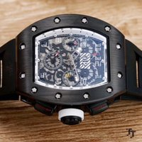 2019 fashion R- M mens watch black case excellent quality men...