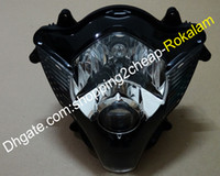 Мотоцикл фар сборка для Suzuki GSX-R600 / 750 2006 2007 K6 GSXR 600 750 06 07 передняя головка светильника лампы объектив