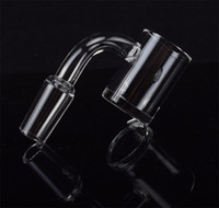 New XL Flat Top Quartz Banger Nail with 4mm Thick Bottom Dom...