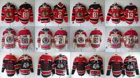 2015 En Yeni Toptan Erkek Chicago Blackhawks 2. Keith # 19 Toews # 88 Kane # 81 hossa Kapşonlu Formalar Hokeyi Kapüşonlular Formalar Tişörtü