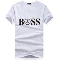 Marca Tee Uomo manica corta T-Shrits grande modo di formato 100% cotone T-shirt da Uomo Moda Sport Coccer sfera Wear Tee Abbigliamento casual k691