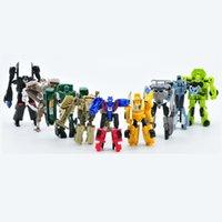 9 ADET: robot araba oyuncak, Dönüştürülmüş oyuncak! A ++! Ücretsiz teslimat