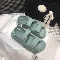 dolce menta magia verde scarpe bastone waterpoof spiaggia casuale dei sandali del progettista donne di lusso di dimensioni scarpe di moda 35-41 tradingbear