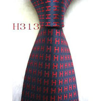 Classic 100% Silk Polyester Ties Mens Fashion Brand Designer...
