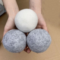 New Hot Seller Wool Dryer Balls Premium Reusable Natural Fab...