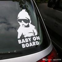 Baby on Board Car Safty Adesivo Decalque Waterproof Noite capas de carro reflexiva Wall Stickers