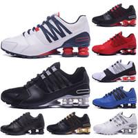 7322ea16 Nuevos llegados. 2019 New Avenue 803 802 shox shoes para hombre zapatillas  Triple negro blanco rojo ...