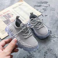 DIMI primavera / autunno traspirante a maglia della ragazza del ragazzo del bambino pattini infantili Sneakers Fashion morbide scarpe comode i primi camminatori
