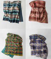 Modelli plaid ACNE Echarpe lusso sciarpa unisex di 2018 Donna Uomo Canada cachemire marca sciarpa di pashmina Classico cicatrice inverno plaid