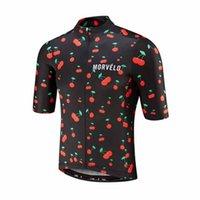 2019 Takım Morvelo Bisiklet Formaları Hızlı Kuru Nefes Tur De Fransa MTB Bisiklet Gömlek Yüksek Kalite Kısa Kollu Dağ Bisikleti Y051301 Tops