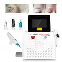 1000MJ Touch screen Q switched Nd Yag Laser Beauty Machine T...