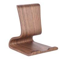 2020 Nuovo universale a mano in legno delle cellule del telefono supporto del basamento per iPhone per Samsung legno posizione Dock di ricarica per compresse per il desktop