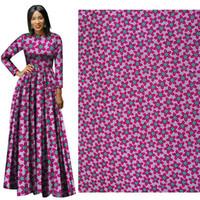 Nuovo Arrivo National Costume Fabrics Polyester Wax Stampe Tessuto Ankara Binta Reale cera di alta qualità 6 metri tessuto africano per abito da festa