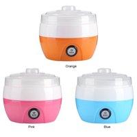 Haushalts-elektrische Multifunktions-Joghurt-Hersteller Edelstahl-Liner Mini automatische Joghurt-Maschine 1l Kapazität Küche 50pcs ZY-SN-1