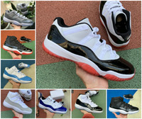 11 New 11s Low Weiß Concord Bred Basketball-Schuhe Jumpman Concord 45 Space Jam Platinum Tint BINARY BLUE Stylist Turnschuhe Menssportschuhe