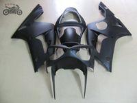 Kawasaki 2003 2004 Ninja ZX6R ZX636 03 04 ZX-6R 636 무광택 검은 오토바이 페어링 바디 부품