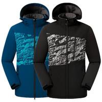 Softshell Grimpez Hommes Automne Hiver Vestes Vestes coupe-vent imperméable Homme Keep-chaud Plus Size Sport Coat Outdoor