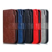 For iPhone X Xr Xs Max 678 Plus Leather Wallet Phone Case Pa...