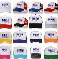 Biden Başkan 2020 şapka Joe Biden Seçim şapkası erkekler kadınlar Trucker Şapkalar moda ayarlanabilir örgü kap LJJK2014