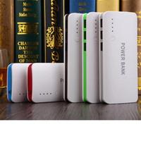 Banque de puissance portable 20000mAh coloré Universal Power Bank externe batterie de secours USB chargeurs de téléphone portable Portable