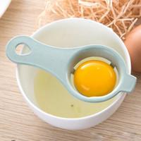 Paglia di grano tuorlo d'uovo del separatore d'uovo della cucina divisore cucina Gadget divisori del tuorlo d'uovo bianco divisore Proteina Separazione Strumento di cucina XD23259