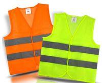 Alta Visibilidade Segurança de Trabalho Construção Vest Advertência Reflexivo Tráfego Trabalho Veste Verde Reflexivo de Segurança De Segurança