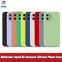 Silicone Candy Color Soft TPU Case For iPhone SE Cover X XR ...
