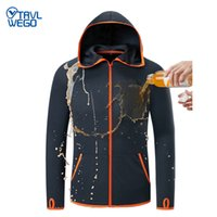 TRVLWEGO Outdoor Fishing Clothing Hooded Ice Silk Men Jacket...