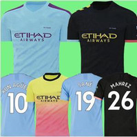 Chelsea MEN 19 20 Manchester City Futbol Jersey Mahrez 2019 2020 DE BRUYNE Kun Agüero kadınlar futbol forması Camiseta MENDY WALKER SİLVA üniformalar