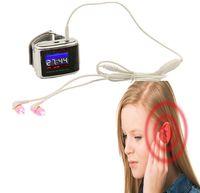 Лазерная иглоукалывание аллергический ринит терапия лазерные часы помощь слуха звон в ушах вылечить диабет браслет баланс сахара смотреть лазер