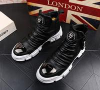 Sıcak Satış-ts kar botları yüksek pamuk çizme erkekler gençlik gündelik ayak bileği çizme sıcak deri bootiesV45