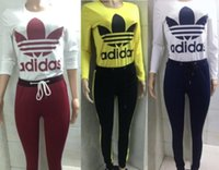 womens two piece set tracksuit shirt pants outfits long slee...