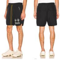 be965164dda New Arrival. Mens designer shorts calções casuais RHUDE X PATRON Neon Target  ...