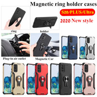Car Magnetic Ring Holder Cover For Samsung Galaxy S20 Ultra ...