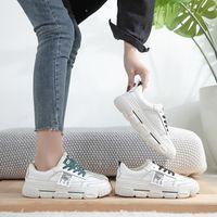 2020 Sonbahar Kış Kadın Moda Sneakers Kadın Ayakkabı Platformu Gerçek Deri Klasik Pamuk Dantel Ekleme pamuk Isınma Ayakkabı I5-12