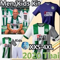 Taille S-4XL 20 21 FC Groningen Soccer Jerseys Home Robben 2020 2021 Groningen Zeefuik Daishawn Rean Football Chemises Maillot de pied