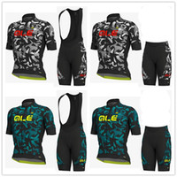 New Summer cycling jersey sets mens ALE team cycling clothin...