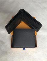 2020 Marke Brieftasche Designer Herren Leder Kurzwallet Brieftasche mit Kasten, Rahmen Staubbeutelhandbuch Eine Vielzahl von Stilen