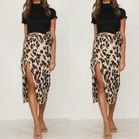 2020 New Fashionable Women Summer Leopard Print Skirt Ladies...