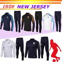 New2019 Olympic Marseille Tracksuit Soccer Jogging Football ...